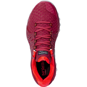 saucony Xodus ISO 2 Zapatillas Mujer, berry/coral